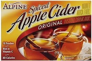 Alpine Spiced Cider Spiced Cider Apple Flavor Drink Mix, 10 ct - SET OF 2