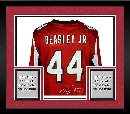finest selection 3e1ac bf76f czech nfl vic beasley red 44 atlanta falcons nike name ...