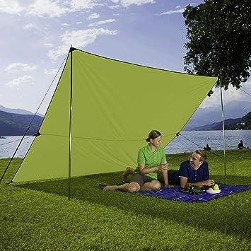 Sonnenschutz Garten berger tarp grün in verschiedenen größen sonnenschutz für garten