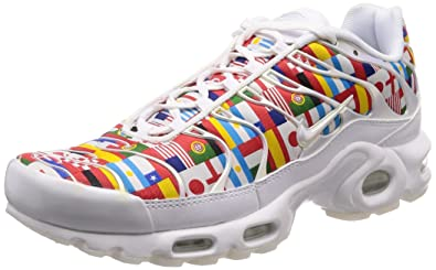 | Nike Men's Air Max Plus NIC, WhiteMulti Color