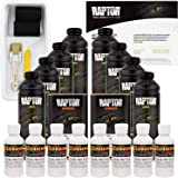 U-POL Raptor Bright White Urethane Spray-On Truck Bed Liner Kit w/FREE Roller, Tray & Brush, 8 Liters