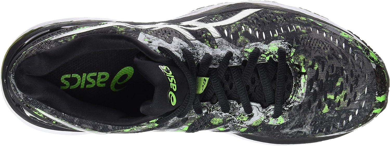 Asics Gel-Kayano 23, Zapatillas de Running para Hombre , color: Negro (Black/Silver/Green Gecko), 40.5 EU (6.5 UK): Amazon.es: Zapatos y complementos