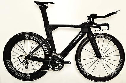 Carbon Road Bike Amazon Com >> Amazon Com Stradalli Black Tt Full Carbon Time Trial Triathlon Ttr