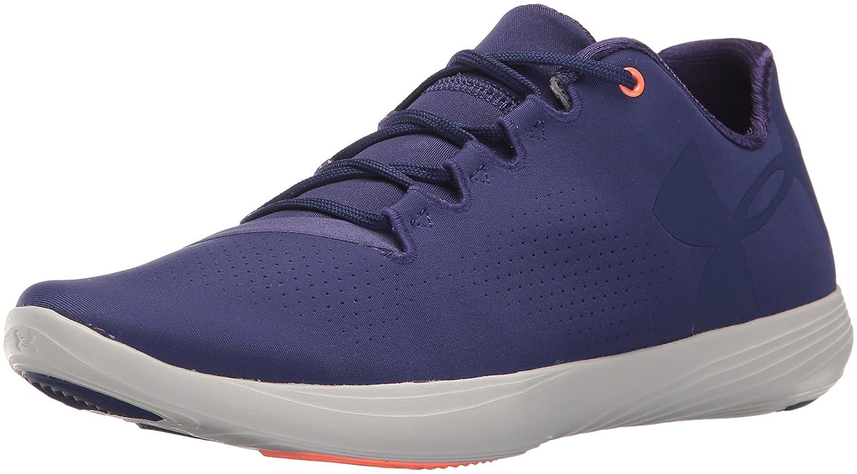 Under Armour Women's Street Precision Low Sneaker B01GSSH82A 8 M US Europa Purple (540)/Glacier Gray