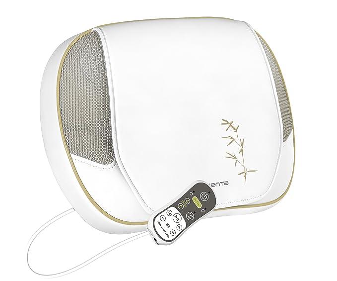 Rowenta MM5050F0 - Cojín masajeador Shiatsu, ideal para zona cervical y lumbar