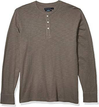 French Connection Camisa Henley de algodón de 3 Botones para Hombre: Amazon.es: Ropa y accesorios