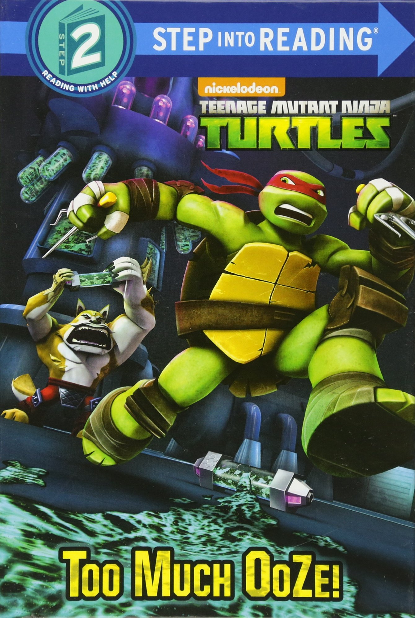 Too Much Ooze! (Teenage Mutant Ninja Turtles) (Step into Reading) pdf