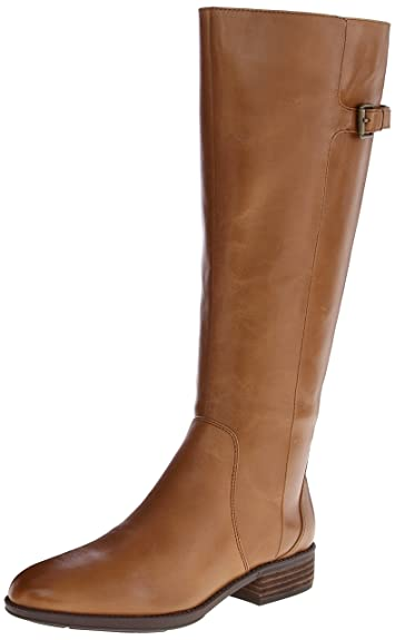 Amazon.com | Sam Edelman Women's Patton 2 Riding Boot (wide calf ...