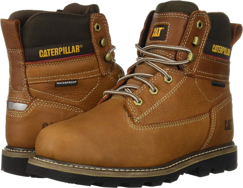 Caterpillar Mens Idaho Waterproof Construction Boot