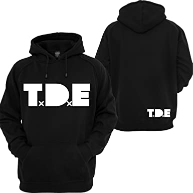 12fac8c6 TDE J Cole Hoodie Top Dawg Entertainment Dreamville Records Music Kendrick  Sweatshirt Black