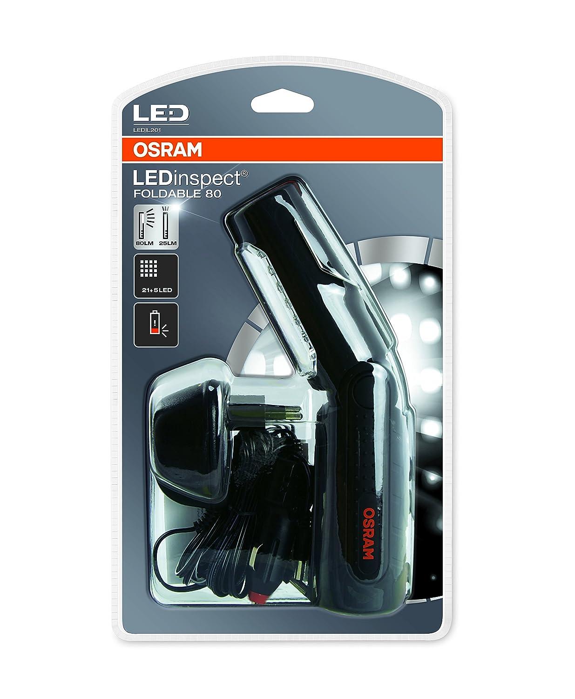 OSRAM LEDinspect PRO POCKET 280 Rechargeable lampe d/'inspection 1 pi/èce Etui carton ferm/é LEDIL107