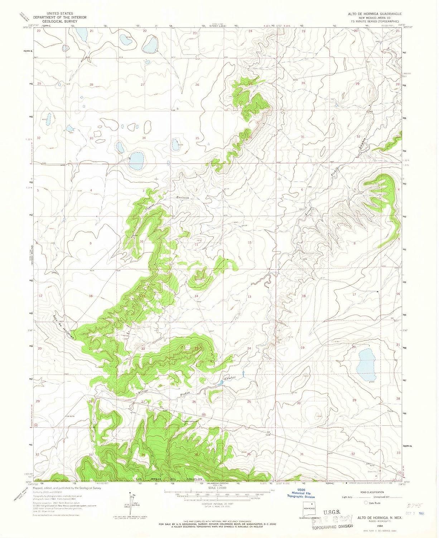 Amazon Com New Mexico Maps 1964 Altoe Hormiga Nm Usgs Historical