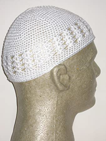 QFitt White Kufi Cap