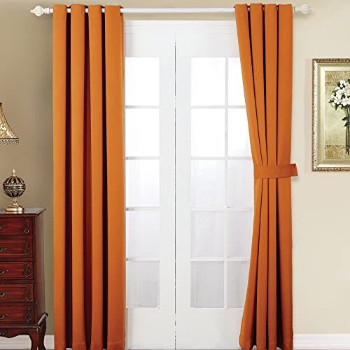 Home Soft Things Serenta 4 Piece Grommet Darkening Thermal Insulated Blackout Window Panel Curtain Set Review
