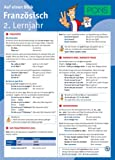 PONS Französisch 2. Lernjahr auf einen Blick: Die kompakte Übersicht für das ganze Schuljahr (PONS Auf einen Blick)