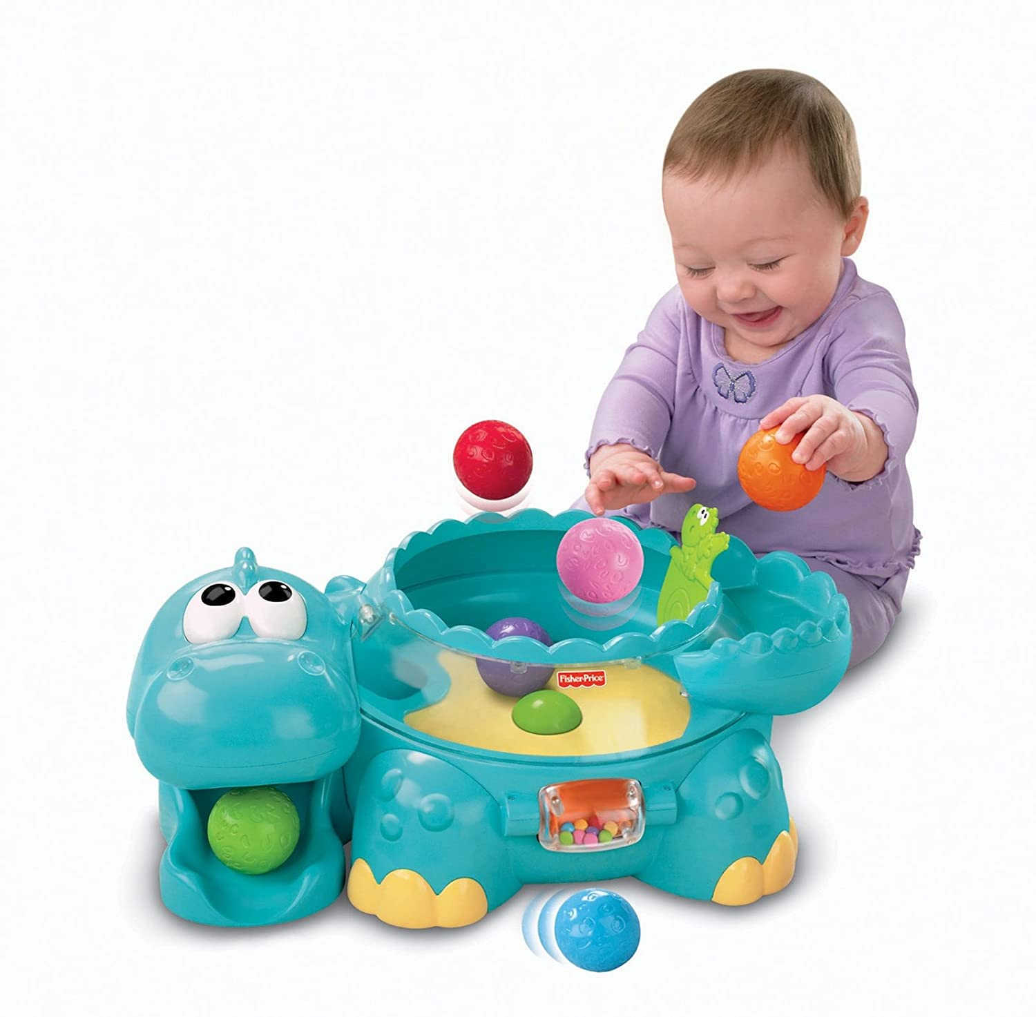 Amazon Fisher Price Poppity Pop Musical Dino Jeux et jouets