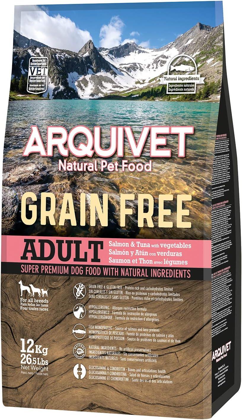 Grain Free / Salmon y Atún 12 kg