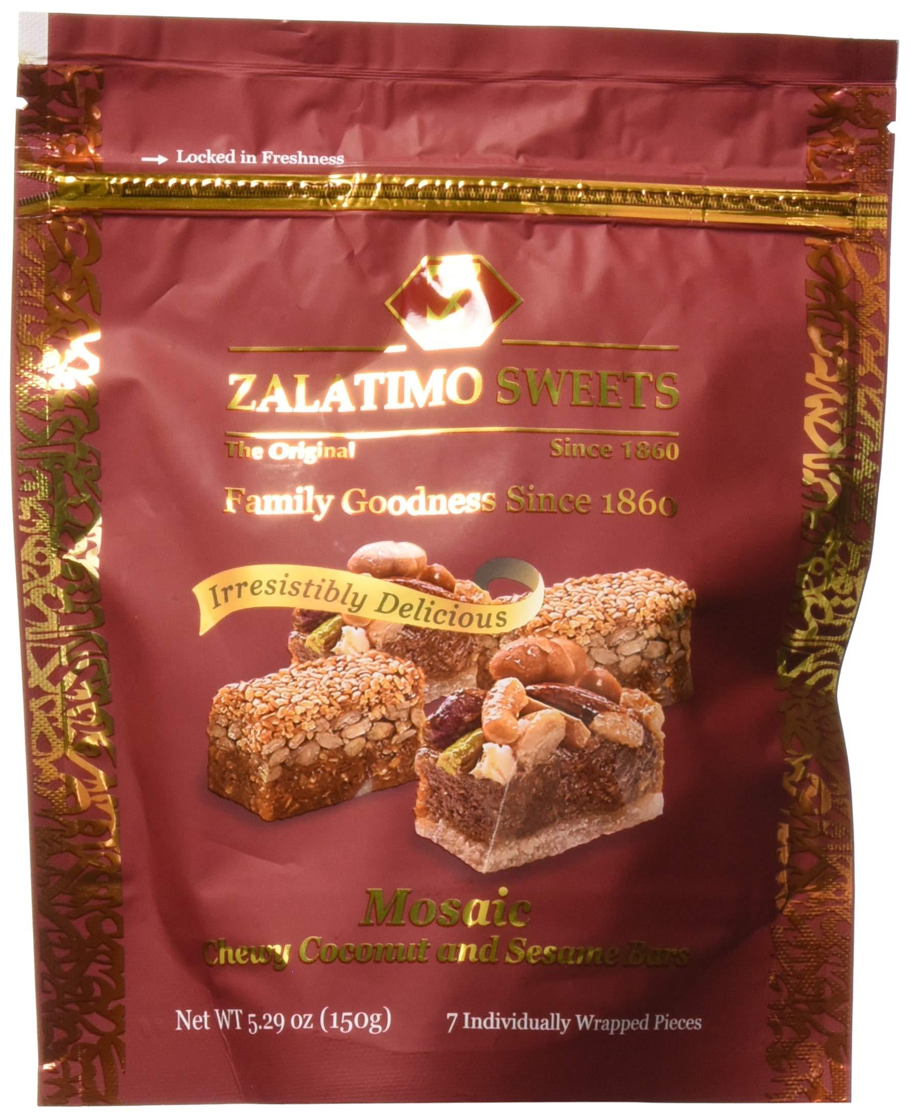 Zalatimo Mosaic Sweets Pouch, 150 GM
