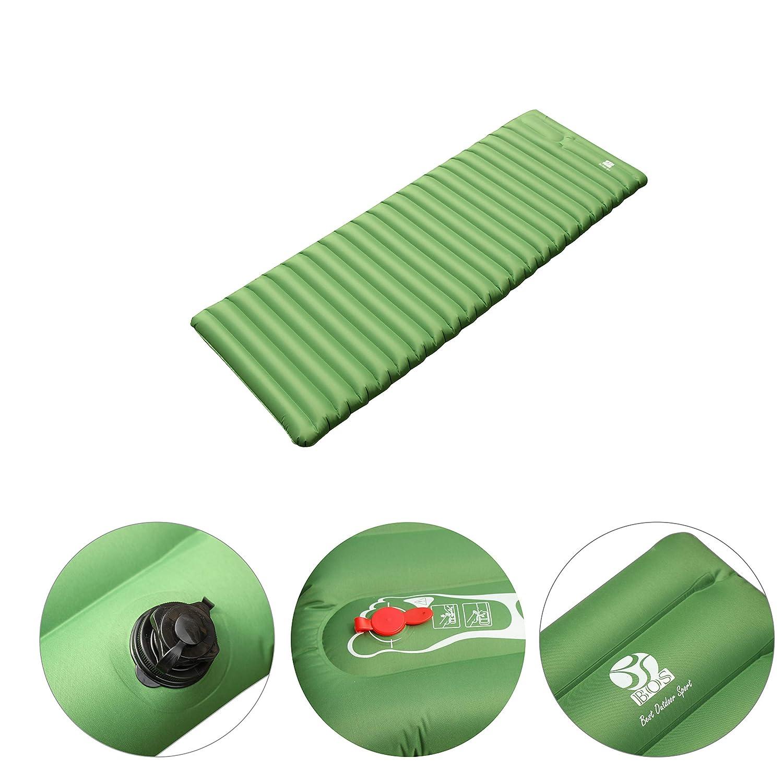 Amazon.com: BOS Almohadilla de dormir inflable – Compacta y ...