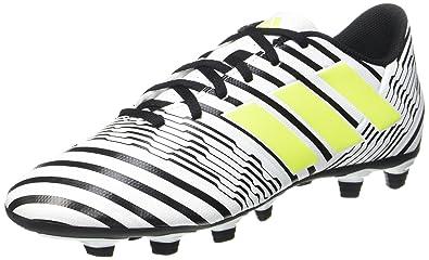 info for 7bee6 1cf1b adidas Nemeziz 74 FxG, Scarpe da Calcio Uomo, Giallo (Footwear White Solar