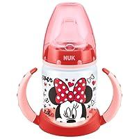 NUK Mickey Polypropylene Training Bottle, 150ml, Red