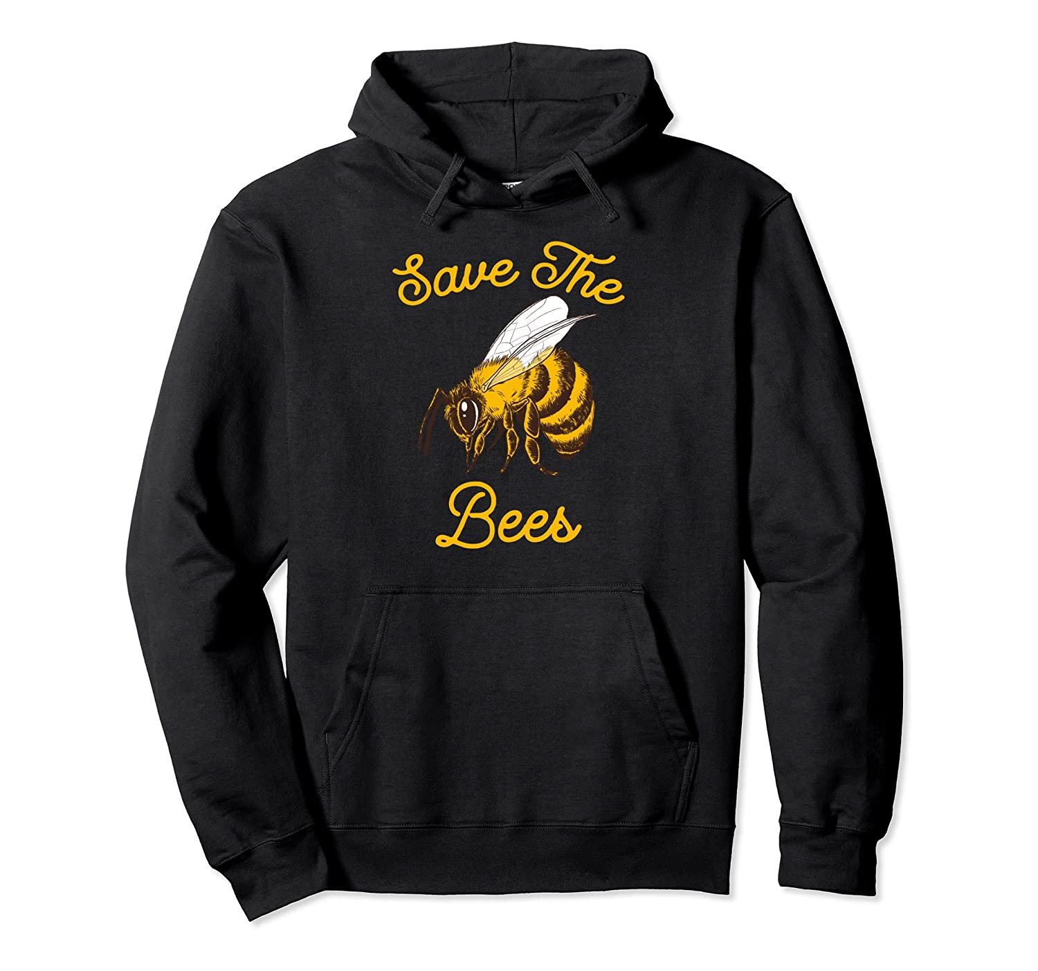 Save The Bees Honeybee Hoodie-AZP