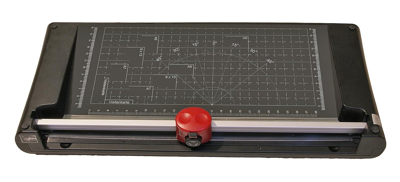 hasta ancho de 32 cm Olympia Vario Duplex 4000 M/áquina de corte cizalla de palanca