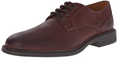 Black Smooth Bostonian Mens Leather Wakeman Walk Oxfords