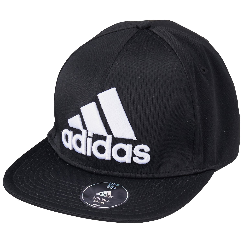 Adidas Cappuccio Flat Brim cappellino Fitted, Unisex, Kappe Flat Brim Cap Fitted, nero, Taglia unica (uomo)