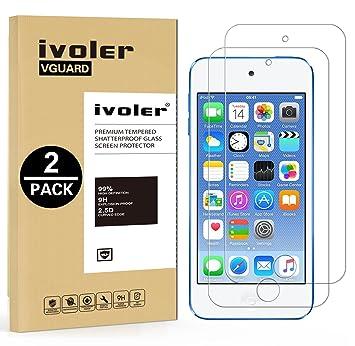 iVoler [2 Unidades] Protector de Pantalla para iPod Touch 6G & iPod Touch 5G