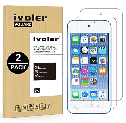 50 opinioni per [2 Pack] iPod Touch 6G (6 Generazione 2015) & 5G (5 Generazione) Pellicola