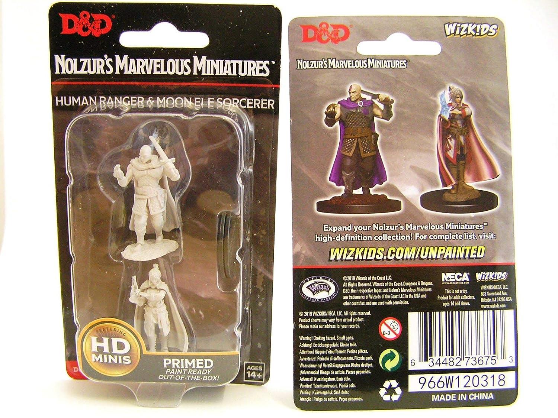 Dungeons /& Dragons Nolzurs Marvelous Unpainted Minis Minsc /& Delina