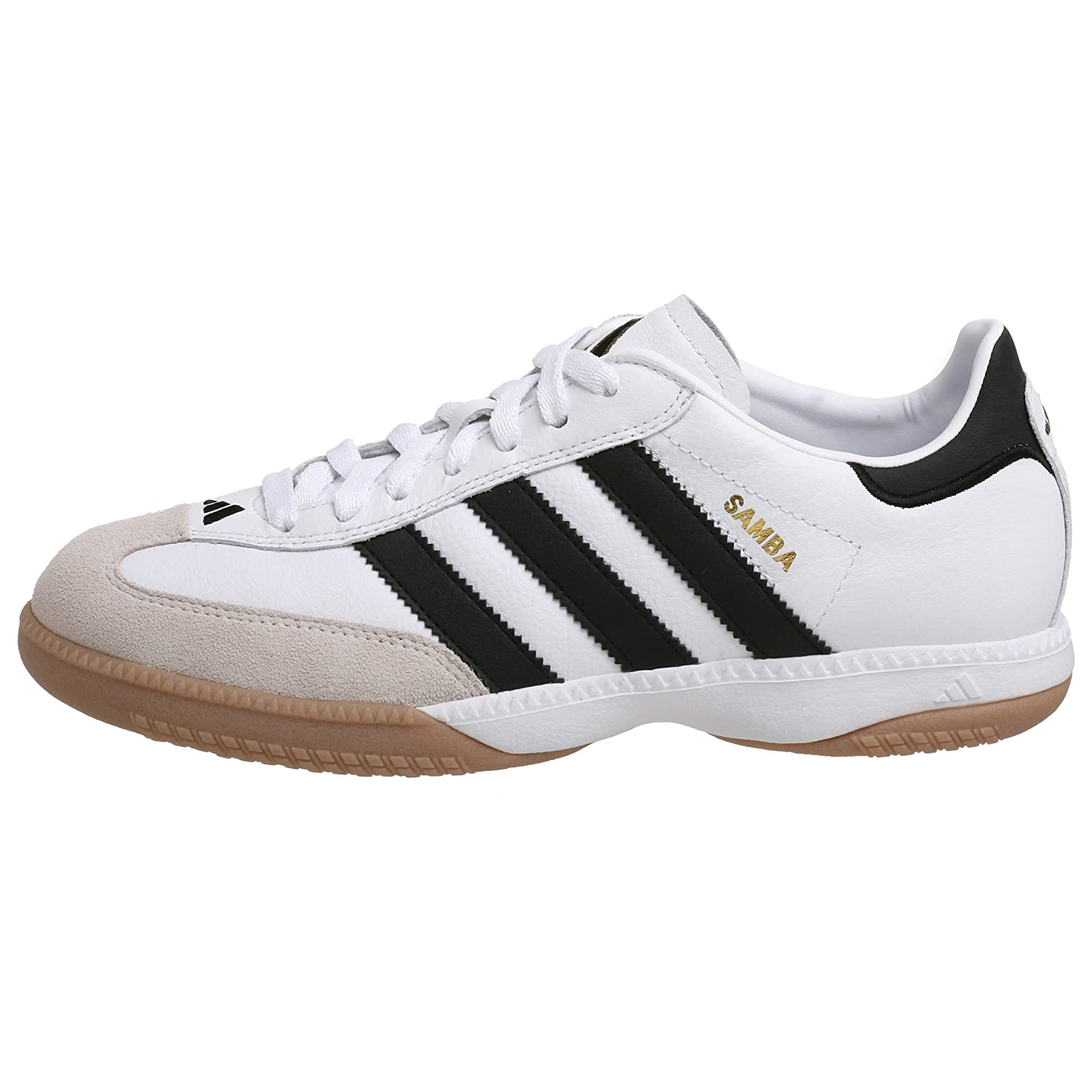 black and white adidas samba