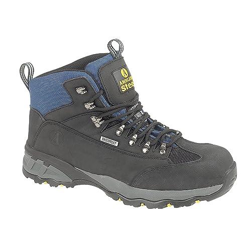 Amblers Steel Fs161 Waterproof Boot / Mens Boots / Safety Footwear IQ_6359