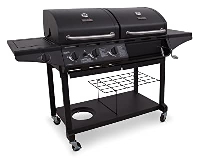Char-Broil Standard 1010 3-Burner Liquid Propane and Charcoal Combo Grill