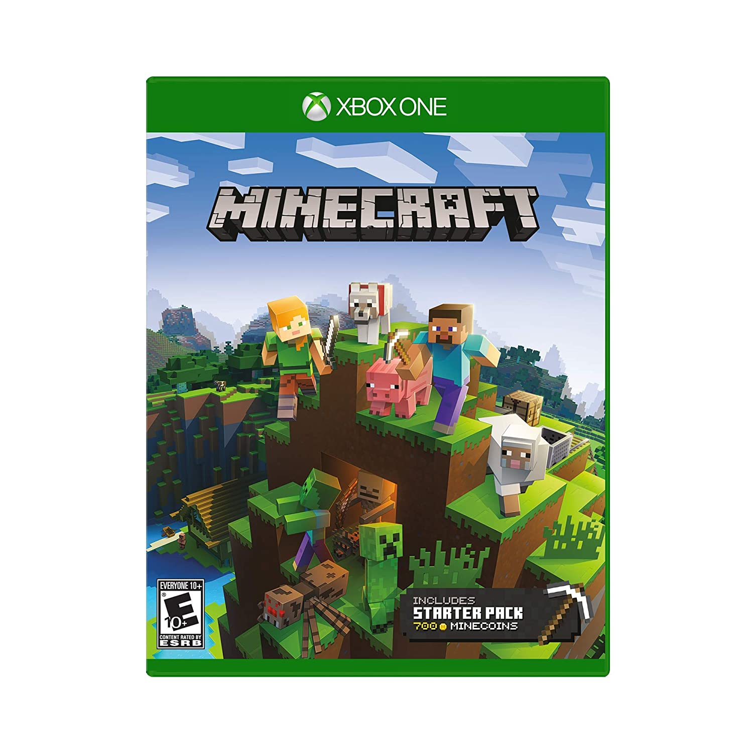 Minecraft Starter Collection - Xbox One (Xbox One): Amazon