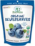 Natierra Nature's All Foods Organic Freeze-Dried Blueberries, 1.2 Ounce