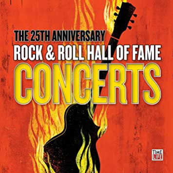 25th anniversary rock & roll hall of fame cd