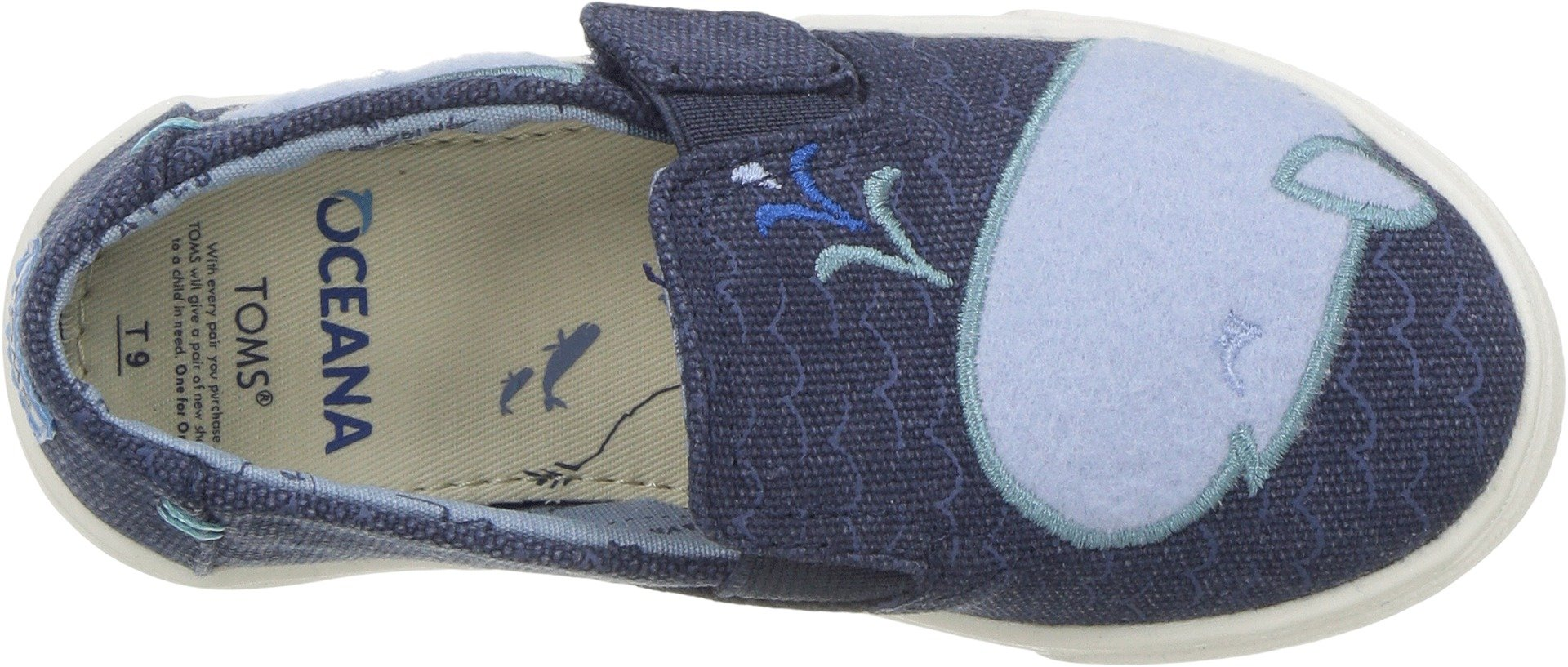 TOMS Kids Unisex Luca (Infant/Toddler/Little Kid) Blue Whale Patch 6 M US Toddler by TOMS (Image #2)