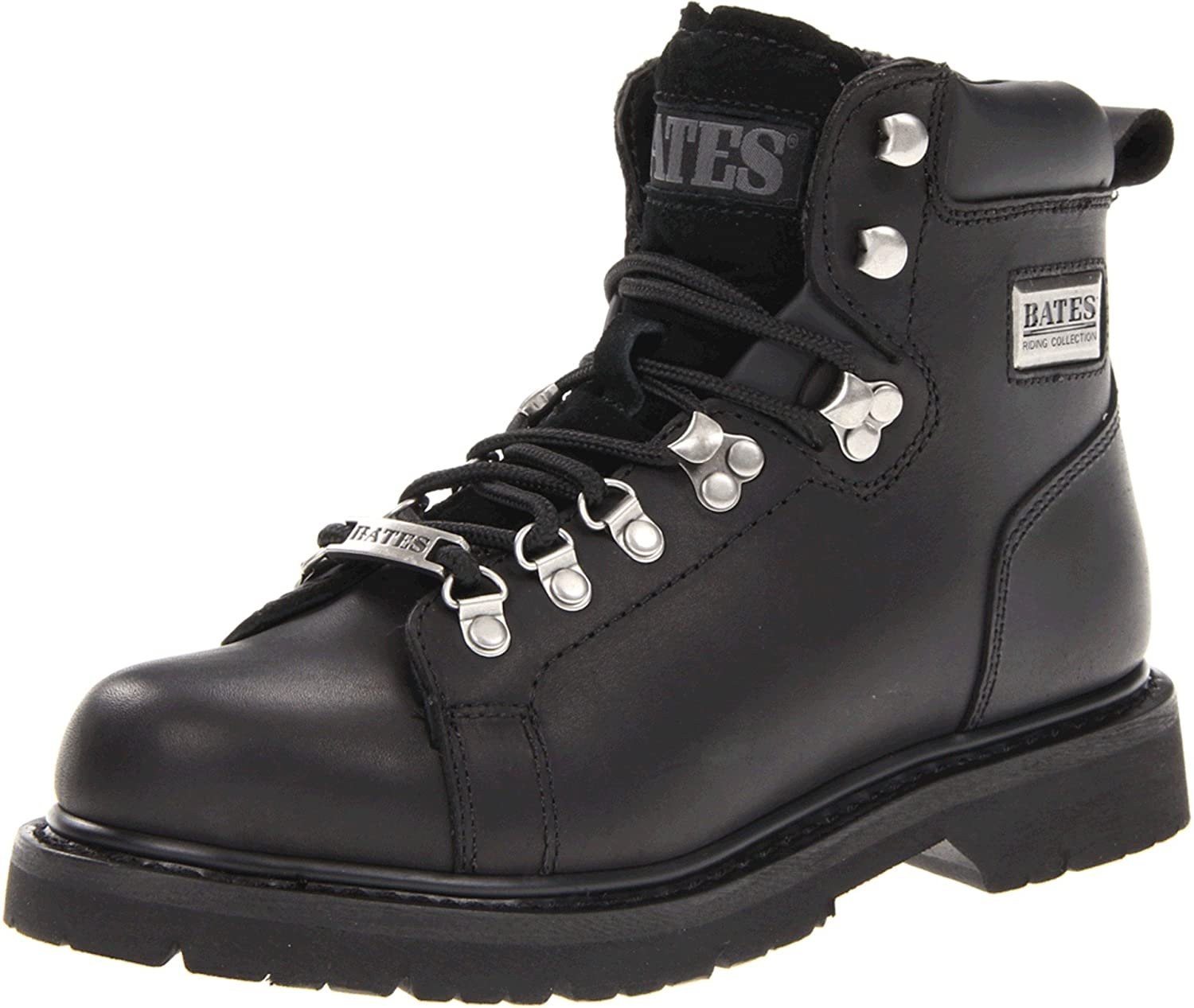 Bates Women's Black Canyon Motorcycle Boot B0083RQ1F0 8 B(M) US|Black