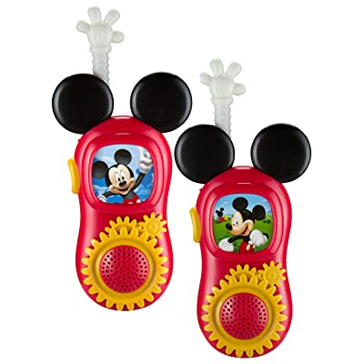 Mickey Mouse Walkie Talkies: Toys & Games