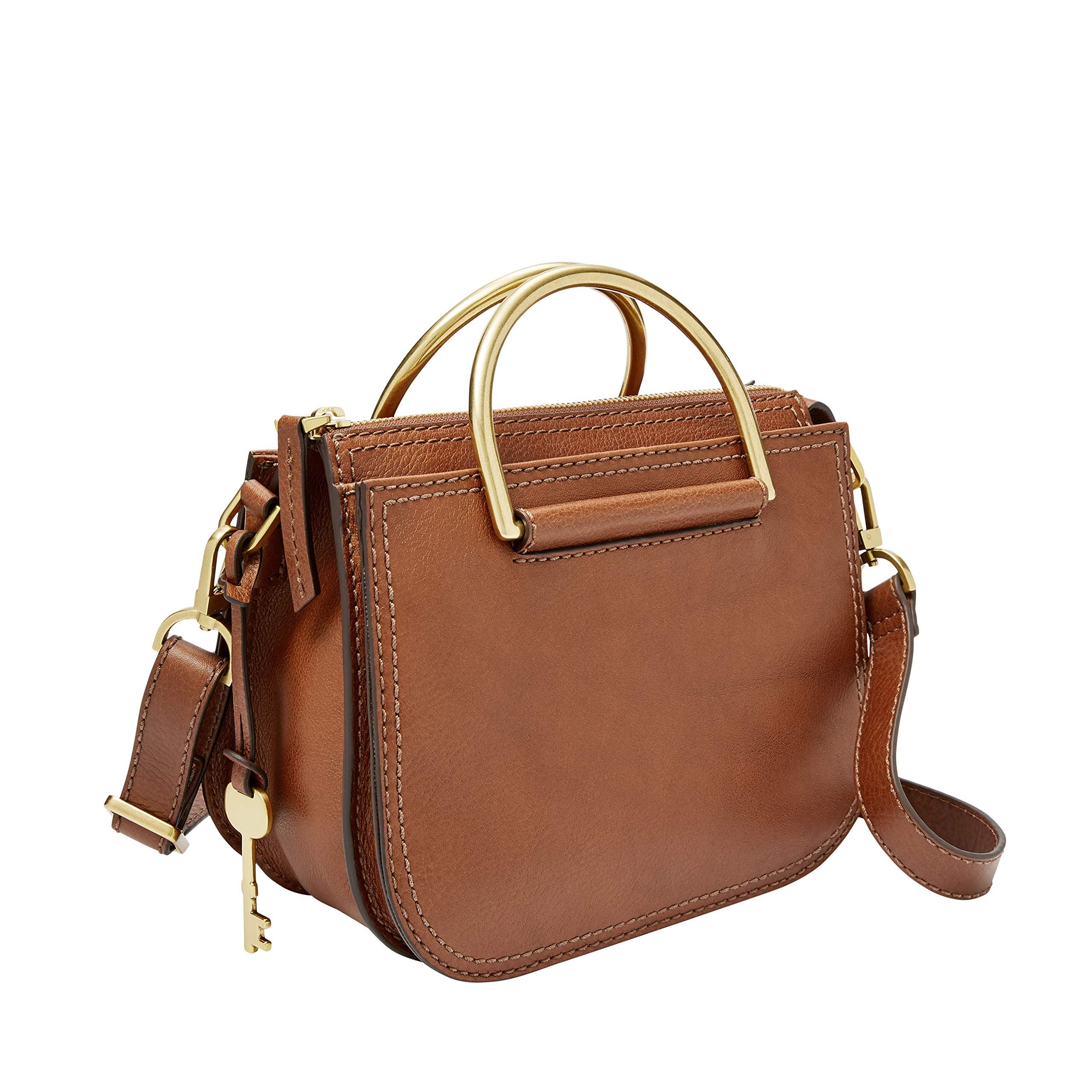 Fossil Ryder Mini Satchel Brown