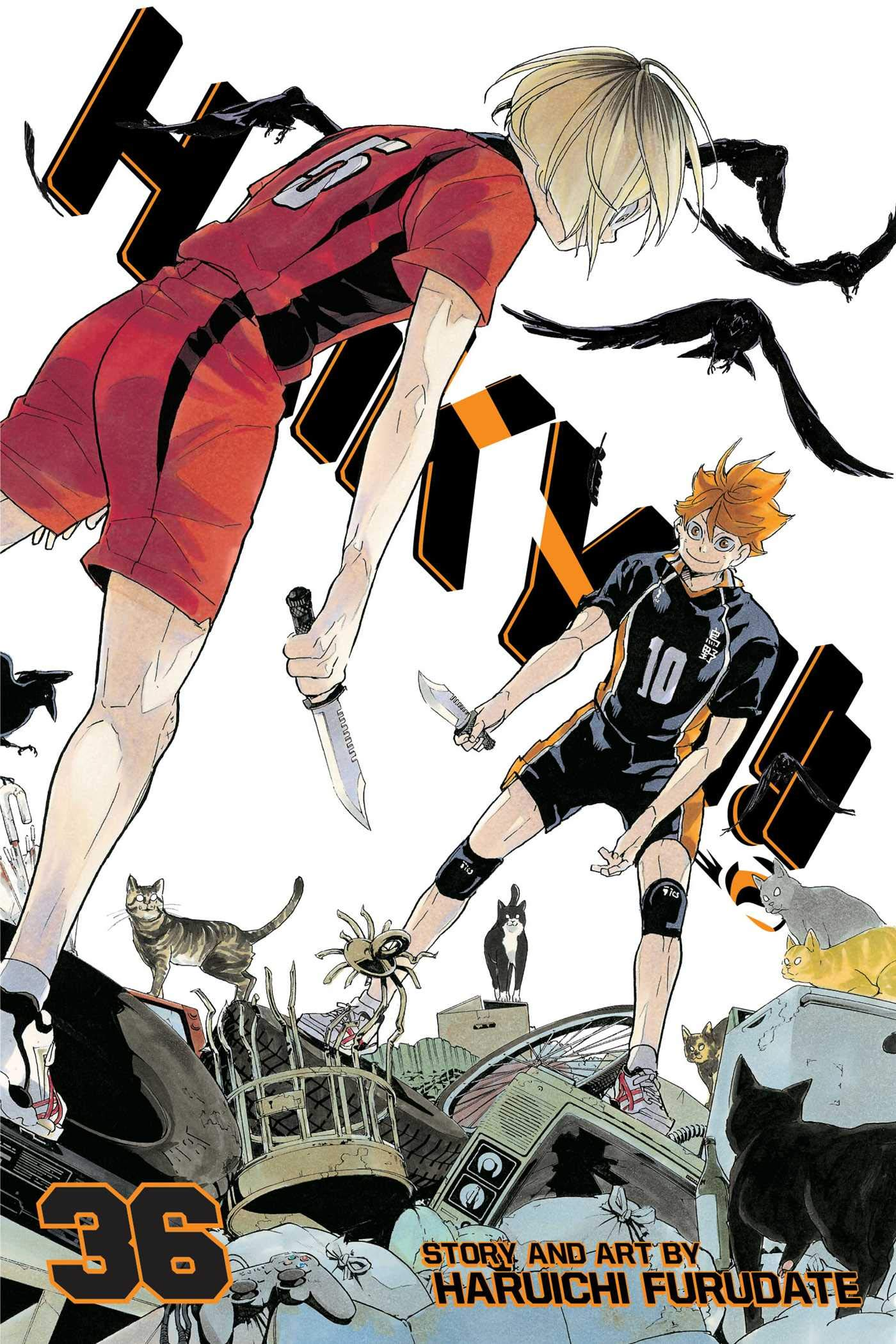 Haikyu!! - Tomo 36 - Haruichi Furudate - Manga ( Ingles)