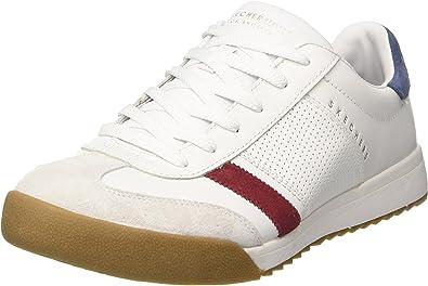 Municipios Sudor Globo  Amazon.com | Skechers Men's Zinger, Sneaker, White/Navy, US M | Shoes