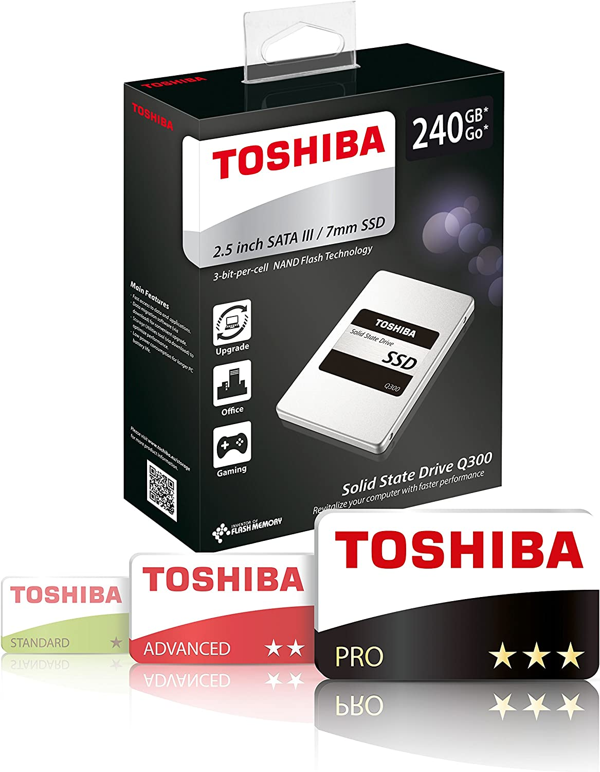 Toshiba Q300 RG4 (TLC) - Disco SSD de 960 GB: Amazon.es: Informática