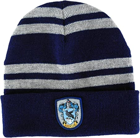 Blue One Size Harry Potter Ravenclaw Hat /& Scarf Set Winter Accessory