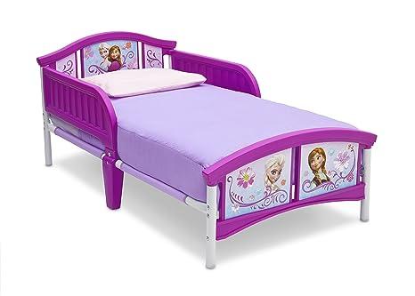 Delta Children Cama De Plastico Para Nina Pequena Disney Frozen - Cama-para-nia
