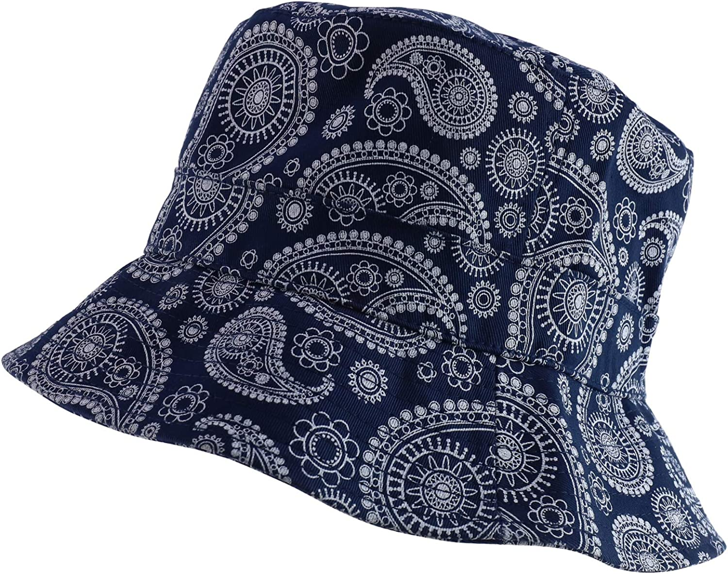 DECKY Paisley Bucket Hat Red