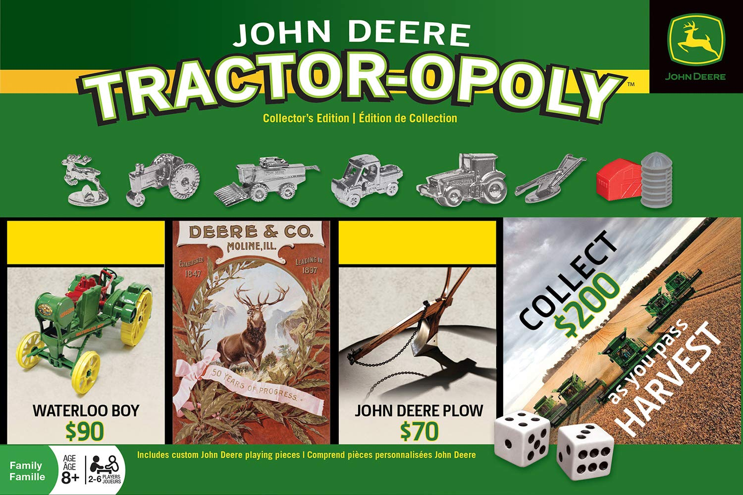 41642 Board Game Masterpieces Puzzle Co MasterPieces National Parks Opoly Jr