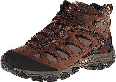 Merrell Mens Pulsate Mid Waterproof Hiking BootBlackBracken10